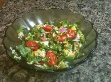 Red and Green Garden Salad