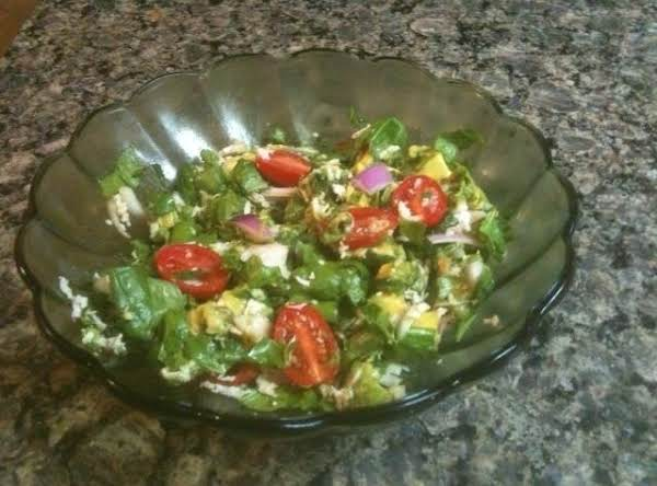 Red And Green Garden Salad Recipe
