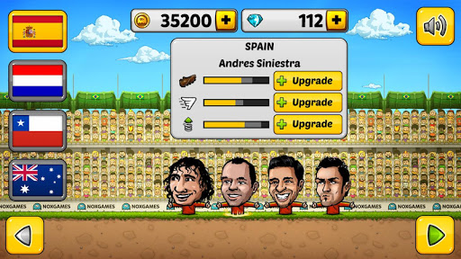⚽Puppet Soccer 2014 - Big Head Football ? screenshot 21