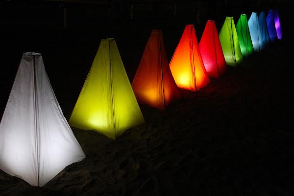 festa in spiaggia  di marmiria