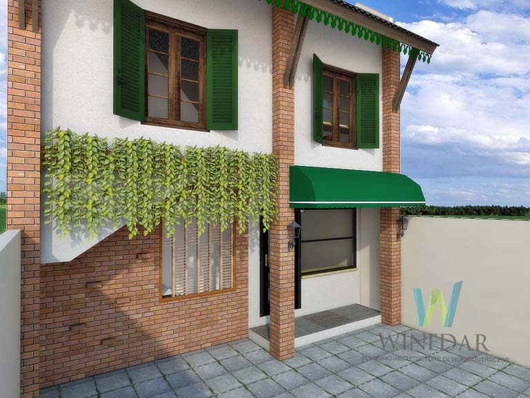 Desain 3D Guesthouse dan Kost di Jogja
