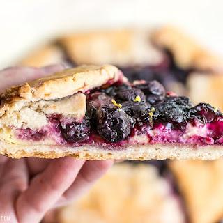 Lemon Blueberry Cream Cheese Galette Recipe