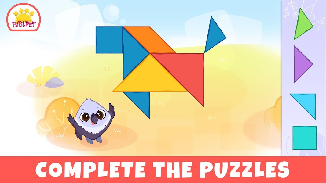Bibi Savanna Animals games for kids