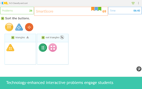 IXL Math Practice- screenshot thumbnail