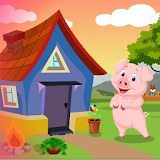 Cute Pig Rescue 2 Kavi Game-401