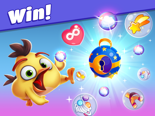 Angry Birds Dream Blast - Toon Bird Bubble Puzzle apkslow screenshots 7