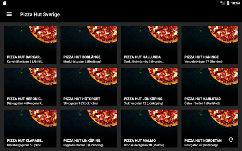 Pizza Hut Sverige- screenshot thumbnail