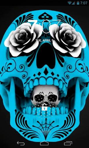 Stylish Skull Live Wallpaper