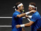 Federer en Nadal zorgen voor spektakel in dubbelspel