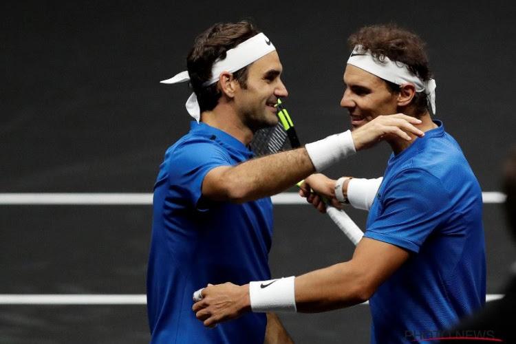 Rafael Nadal en Roger Federer krijgen Italiaanse, Oostenrijkse en Duitse hulp in de Laver Cup