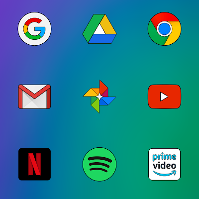 FLYME 8 - ICON PACK Screenshot Image
