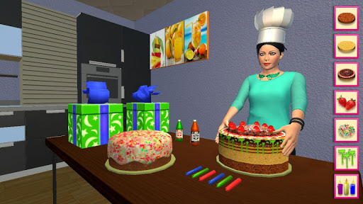 My Home Bakery Food Delivery Games modavailable screenshots 2