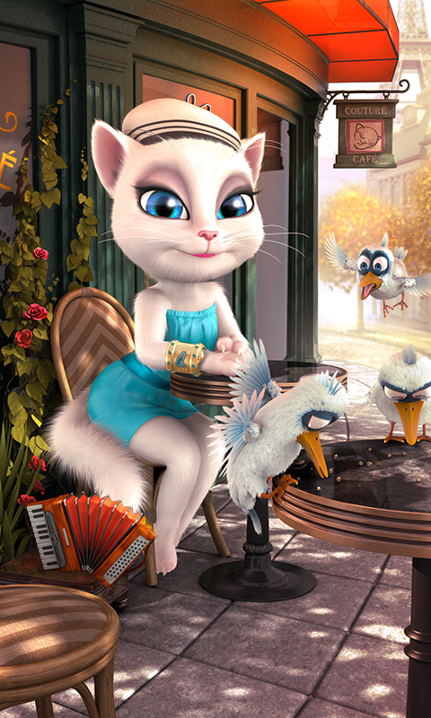 Talking Angela- screenshot