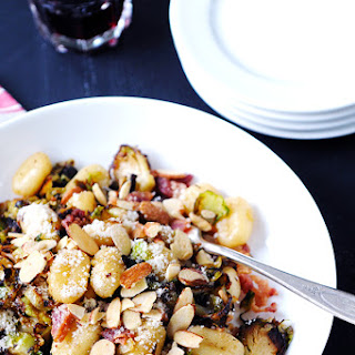 Gnocchi with Shaved Brussels and Bacon