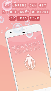 Download Workout for Kids : Make Home Fitness exercices Fun For PC Windows and Mac apk screenshot 2