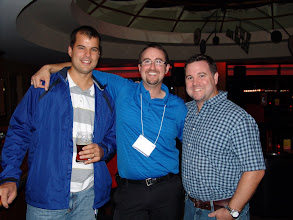 Photo: Aaron Dobson, Dan Redmond, and Stephen Lynch