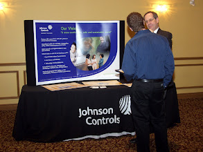 Photo: The Johnson Controls Display