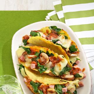 Überbackene Tacoschalen nach italienischer Art