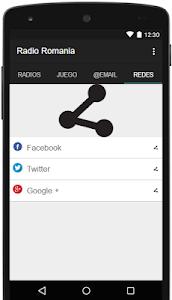 Radio Romania Gratis screenshot 2