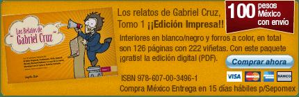 Clickea aquí para adquirir un ejemplar impreso de Los relatos de Gabriel Cruz Tomo 1