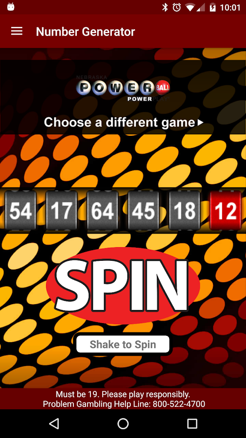 Nebraska Lottery- screenshot