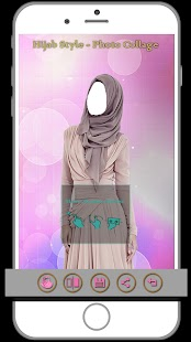 hijab style photo collage - náhled