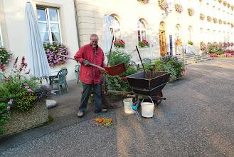 Photo: Viel Arbeit für den Gärtner