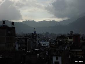 Photo: Rain clouds - first afternoon in Kathmandu