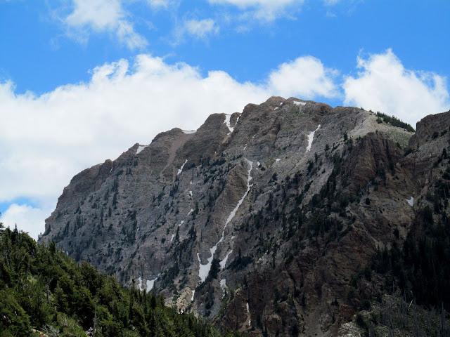 Eastern face of Deseret Peak