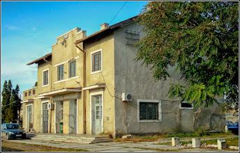 Photo: Str. Garii - Fosta cladire a garii demolata in anul 2013, an in care linia Mocanita Turda- Abrud a fost inscrisa pe lista monumentelor istorice - imag din 2009.10.23