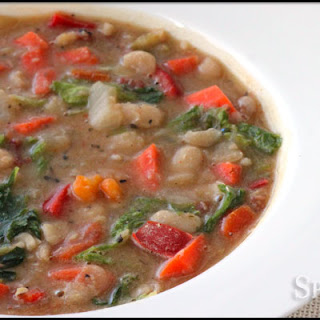 Tuscan Soup with White Beans Recipe