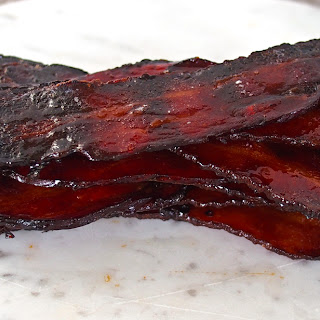 Maple and Coffee Glazed Bacon.