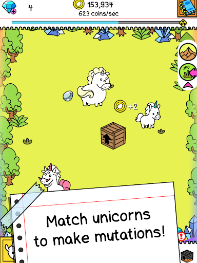 Unicorn Evolution - Fairy Tale Horse Game modavailable screenshots 7