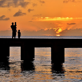 Contemplation. by John Canning - Landscapes Sunsets & Sunrises ( silhouette,  )