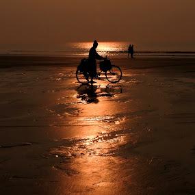 GOLDEN MOMENT by Ajit Kumar Majhi - Landscapes Sunsets & Sunrises (  )