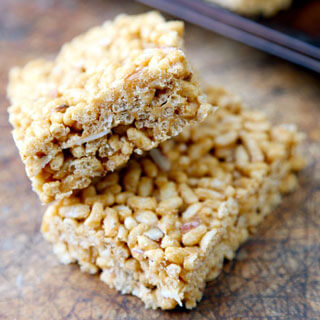 Healthy Rice Crispy Treat.