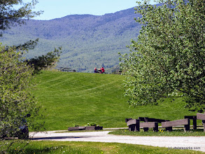 Photo: Picnic on the hill at Waterbury Center State Park