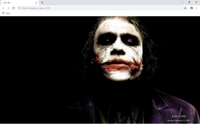 The Joker New Tab & Wallpapers Collection
