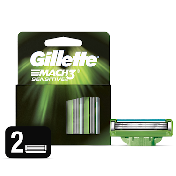 Repuesto GILETTE Mach3   Sensitive x2Und