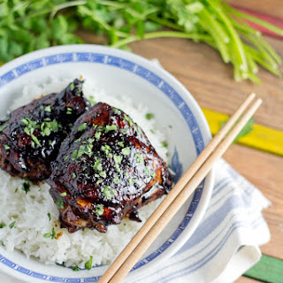 Soy-glazed Black Pepper Chicken