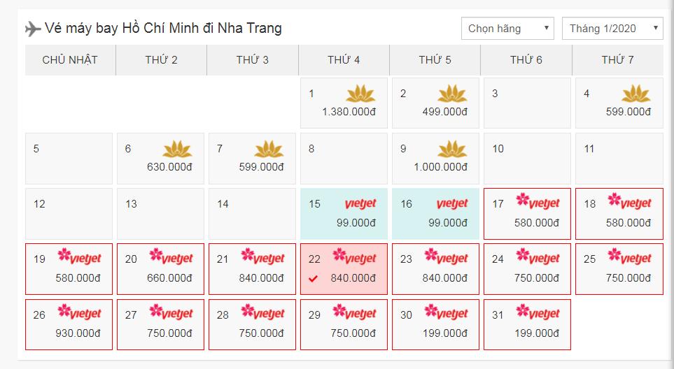 Cách đặt vé máy bay đi Nha Trang nhanh gọn, đơn giản, dễ tìm giá tốt