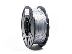 Metallic Silver PRO Series PLA Filament - 3.00mm (1kg)