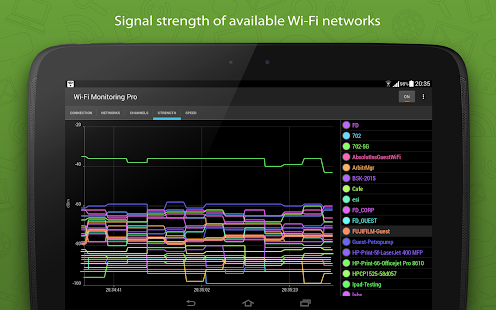 WiFi Monitor Pro Screenshot
