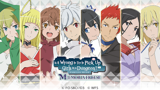 DanMachi MOD Apk 10.2.0 (Unlimited Money) 1