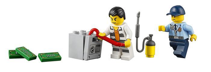 Lego City 60128 Police Pursuit Cảnh sát truy đuôi