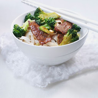Chinese Beef With Broccoli Stir Fry.