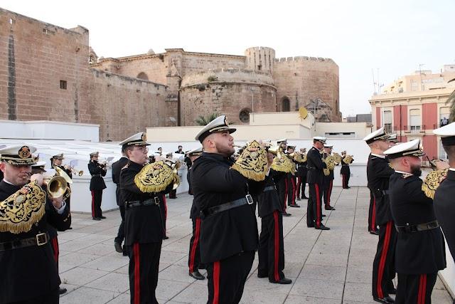 Banda del Carmen en la azotea de la casa-palacio de los Puche.