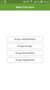 Drugs classification & dosage- screenshot thumbnail