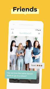 Bumble — Date. Meet Friends. Network App Download For Android and iPhone 2