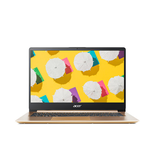 Máy tính xách tay/ Laptop Acer Swift 1 SF114-32-C9FV (NX.GXQSV.002) (N4000) (Vàng)